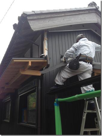 2015-06-06%2009.06.06_thumb 伊賀市岡波の古民家改装現場です。