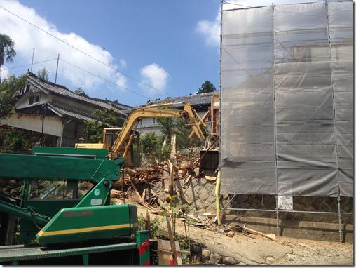 2015-07-31%2010.28.22_thumb 伊賀市腰山の古民家解体現場です