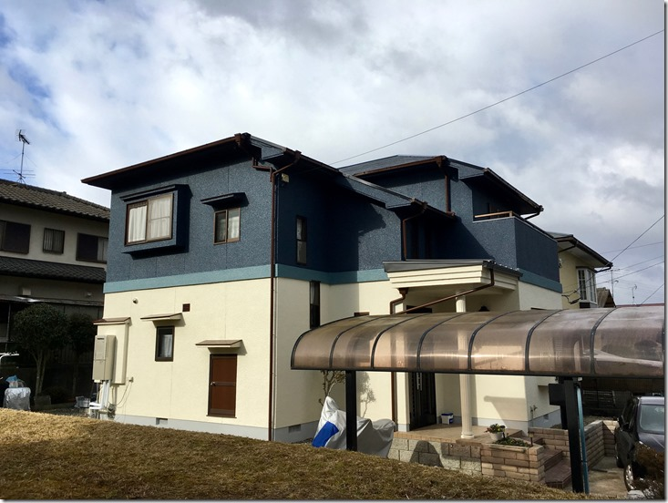 IMG_6382_thumb 桐ヶ丘で塗装工事が完了しました!