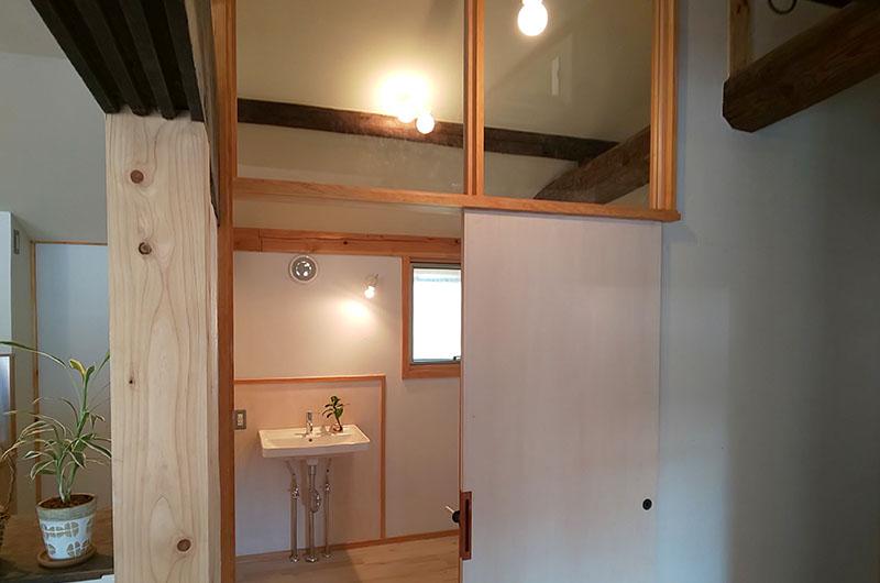 茅葺の古民家再生と薪ストーブのある家10