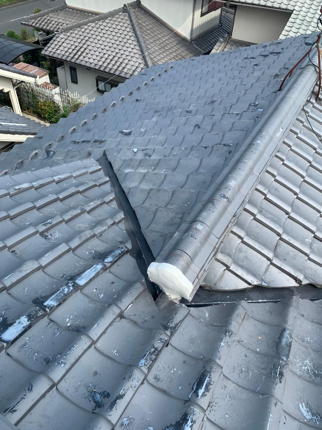 雨漏りで困っていた屋根工事で安心01