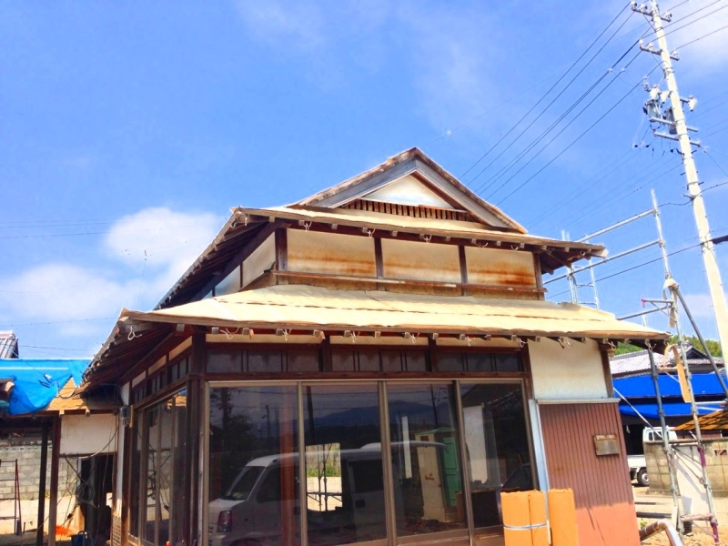 blog_import_550a1b9132b7e 伊賀市柏野、古民家かいそう現場