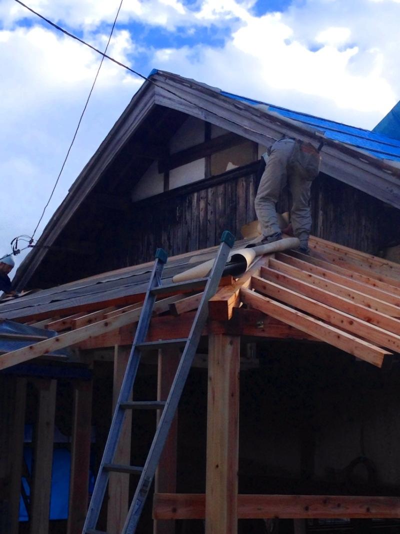 blog_import_550a1bdc3d0ee 伊賀市柏野、古民家かいそう現場。