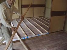 blog_import_550a1c32bc61c 床貼替工事~畳→フローリングへ~