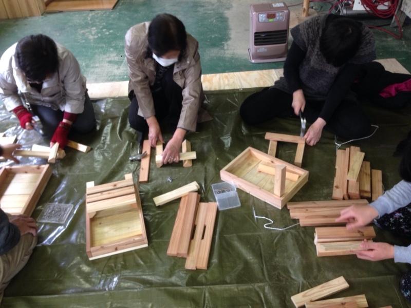 o0800060013250344596 山のめぐみ舎の木工ワークショップ無事終了しました。(^O^)