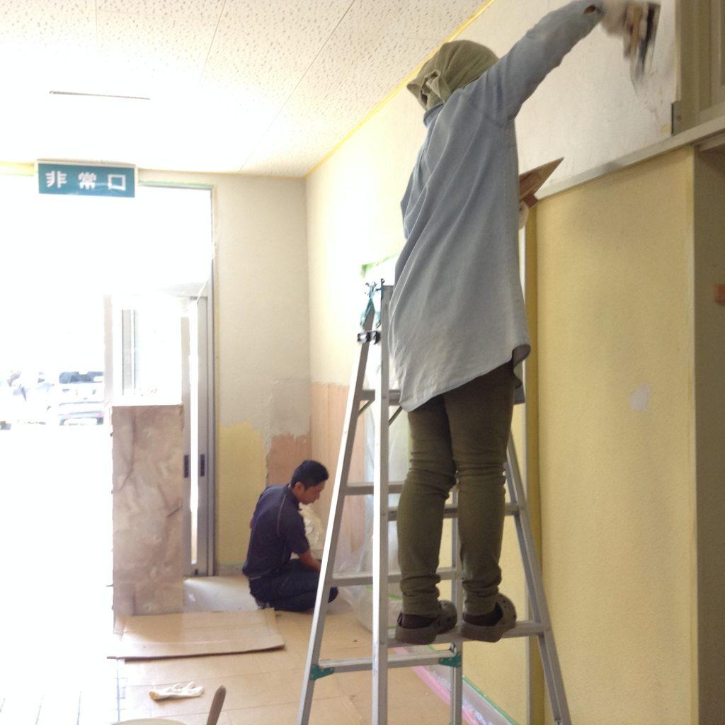 IMG_00401-e1506320167668-1024x1024 10/1 珪藻土塗りワークショップの準備 ~下地塗り~
