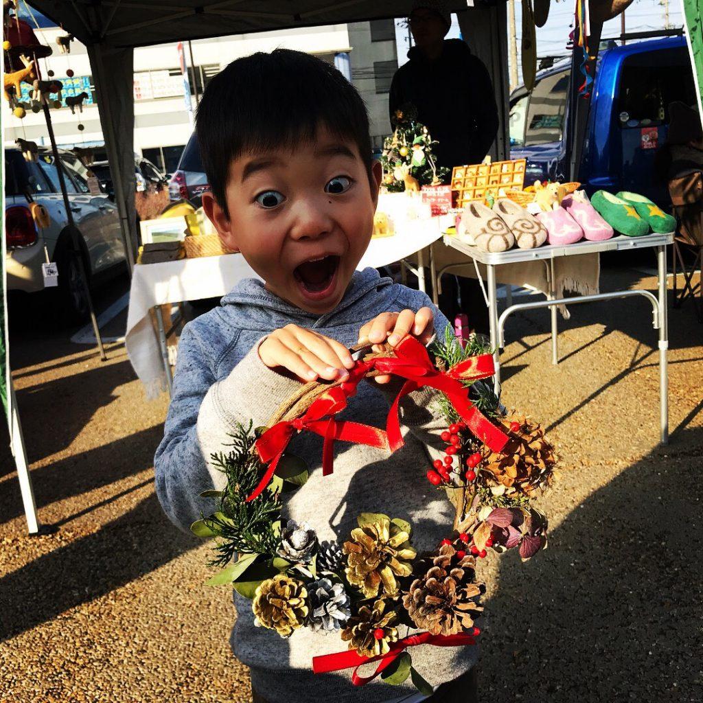 IMG_3612-1024x817 今年最後のマーケットノトナリ*クリスマスリース
