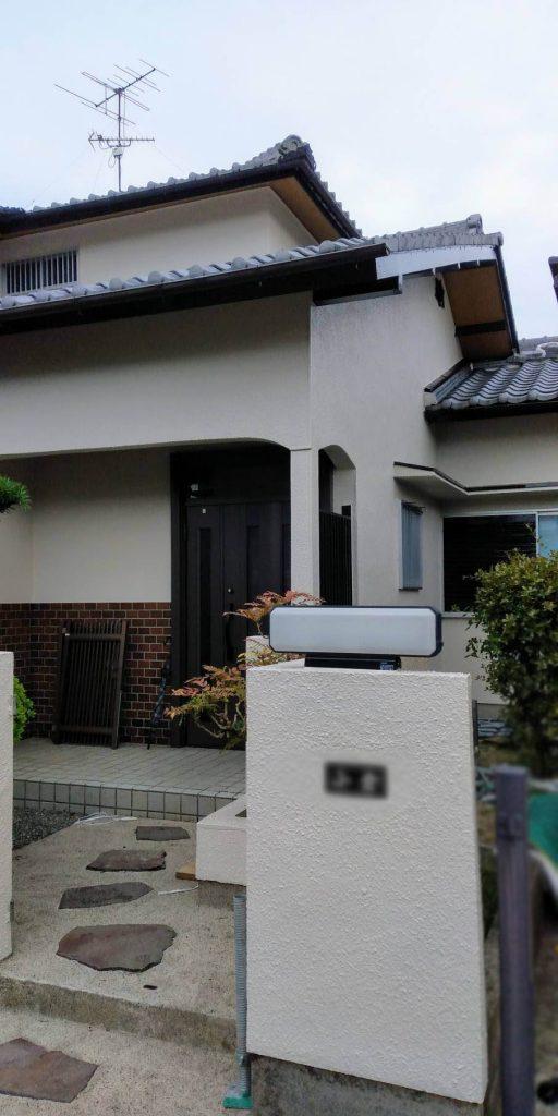 1-2-699x1024 名張市O様邸 外壁塗装工事が完成いたしました!