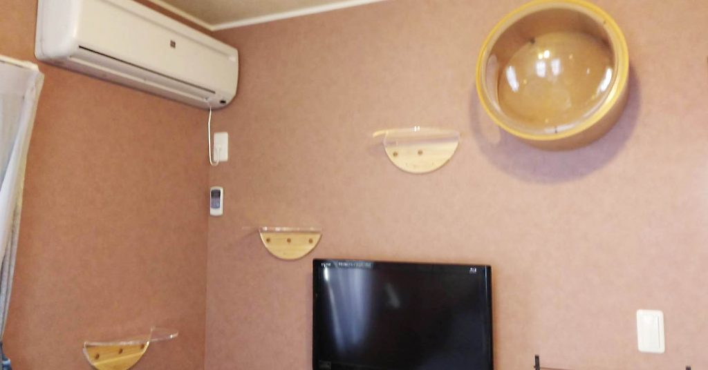 -512x1024 名張市「草花庵」様の飾り棚を設置させて頂きました!